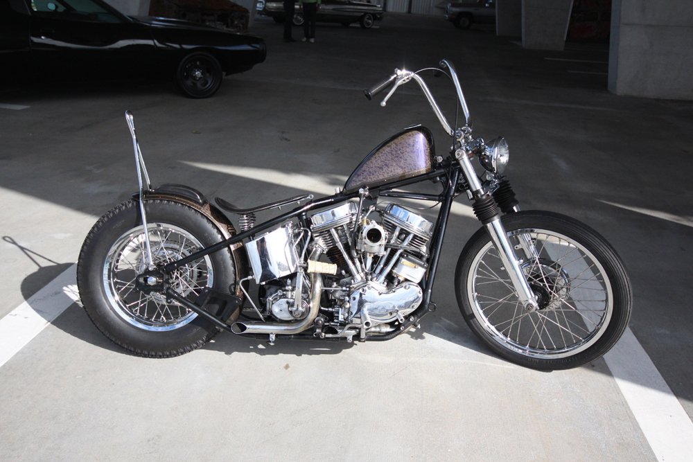 Panhead by Olivier Mosset