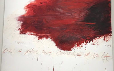 Roland Barthes on Cy Twombly